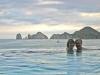 Infity pool at Riu Palace