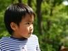 Japanese boy in Tokyo park 2006