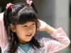 Japanese girl in Tokyo park 2006