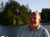 David Niven on Prospect Lake