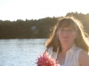 Geraldine Pugh on Prospect Lake 2010