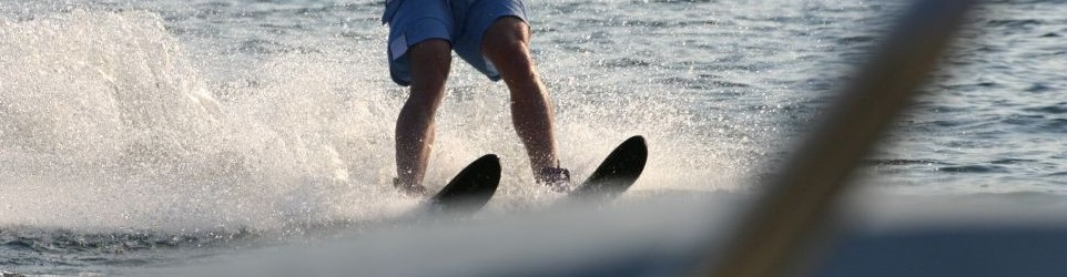 Water Skiing on Prospect Lake with Rob & Geraldine
